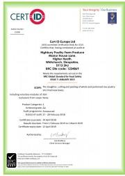 BRC Certificate 2018/19