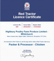 Red Tractor 2021/22